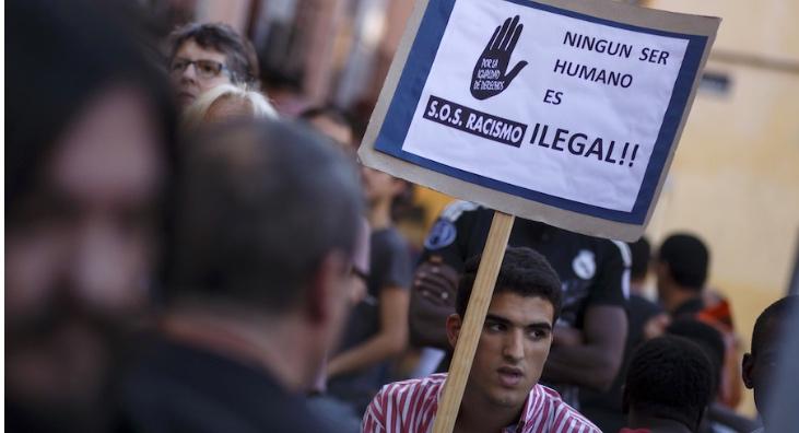 Manifestación antirracista. Juan Medina / Reuters